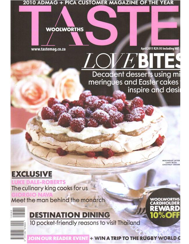 Taste April 2011